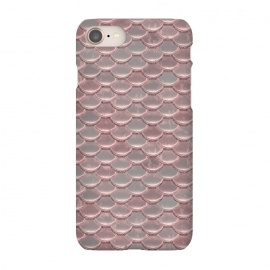 iPhone 8/7  Pink Snake Skin by Andrea Haase