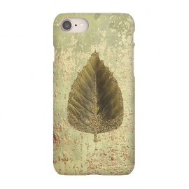 iPhone 8/7  Golden Leaf And Sparkle by Andrea Haase