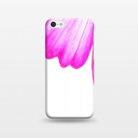 iPhone 5C  Pink Flower Abstract by Alemi