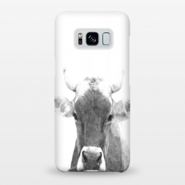 Galaxy S8+  Black and White Cow by Alemi