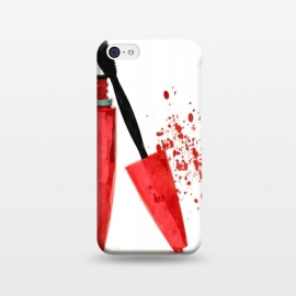 iPhone 5C  Red Mascara by Alemi