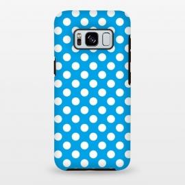 Galaxy S8 plus  Polka Dots Blue by
