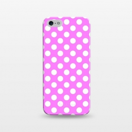 iPhone 5/5E/5s  Polka Dots Pink by Alemi