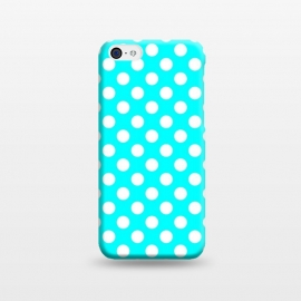 iPhone 5C  Polka Dots Turquoise by Alemi