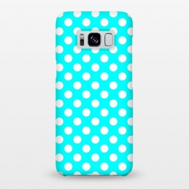 Galaxy S8+  Polka Dots Turquoise by Alemi