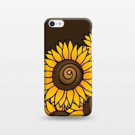 iPhone 5C  Sunflower by Majoih