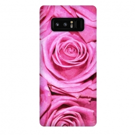 Galaxy Note 8  Pink Roses  by Alemi