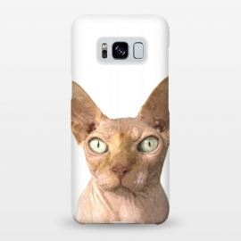 Galaxy S8+  Sphynx Cat Portrait by Alemi