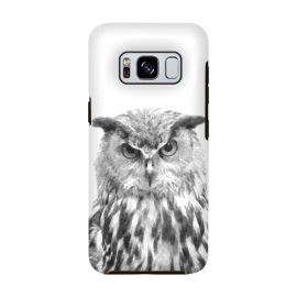Black and White Owl by Alemi