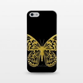 iPhone 5/5E/5s  Butterfly Gold by Alemi