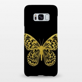 Galaxy S8+  Butterfly Gold by Alemi