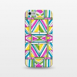 iPhone 5/5E/5s  Geometric Pattern by Laura K Maxwell