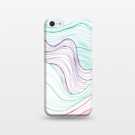 iPhone 5C  Gentle Waves by Laura K Maxwell