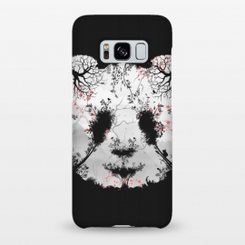 Galaxy S8+  Dark Forest Panda by Sitchko Igor (Dark, Animals, Animal, Birds, Horror, Nature, Mixed art, Illusion, Wild, Bear, Panda, White, black-&-white, black-white, Sacura, Trees, Digital, Environment, Cute)