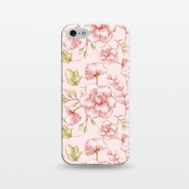iPhone 5/5E/5s  Pink Roses by Utart