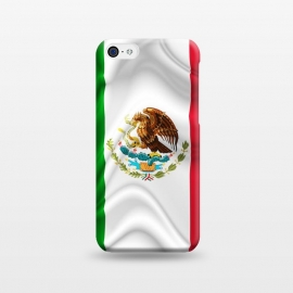 iPhone 5C   Mexico Waving Silk Flag by BluedarkArt
