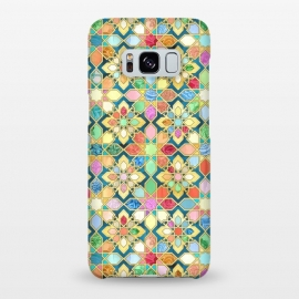 Galaxy S8+  Gilded Moroccan Mosaic Tiles by Micklyn Le Feuvre