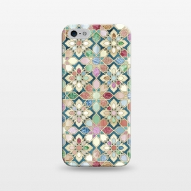 iPhone 5/5E/5s  Muted Moroccan Mosaic Tiles by Micklyn Le Feuvre
