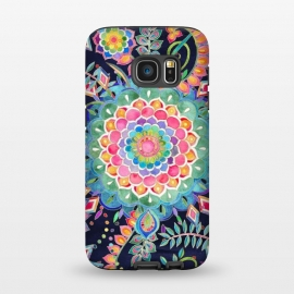 Galaxy S7  Color Celebration Mandala by Micklyn Le Feuvre