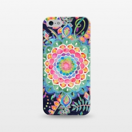 iPhone 5/5E/5s  Color Celebration Mandala by Micklyn Le Feuvre