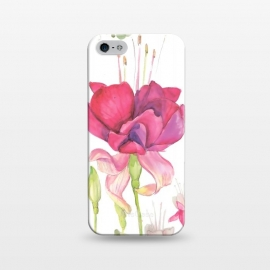 iPhone 5/5E/5s  Reddish Rose by Creativeaxle