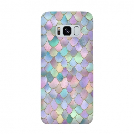 Lavender and Pink Wonky Mermaid Scales by Utart