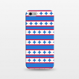 iPhone 5/5E/5s  LINES STARS PATTERN by MALLIKA