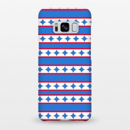 Galaxy S8+  LINES STARS PATTERN by MALLIKA