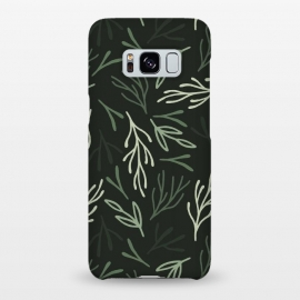 Galaxy S8+  Dark Forest Leaves by ArtPrInk