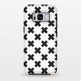 Galaxy S8 plus  Scandinavian Crosses Black by