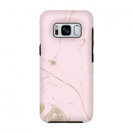 Galaxy S8  Luxe gold and blush marble image by InovArts