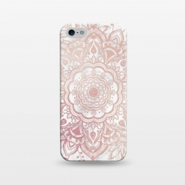 iPhone 5/5E/5s  Queen Starring of Mandala-White Marble by ''CVogiatzi.