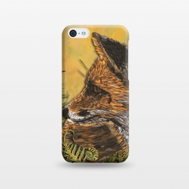 iPhone 5C  Ferny Fox by Lotti Brown
