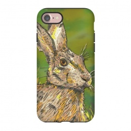 iPhone 8/7  Summer Hare by Lotti Brown (hare,rabbit,nature,animal,animals,countryside)