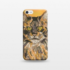iPhone 5C  Maine Coon Cat by Lotti Brown