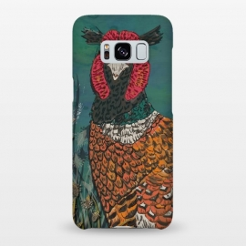 Galaxy S8+  Funny Pheasant by Lotti Brown