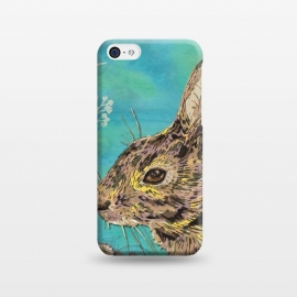 iPhone 5C  Rabbit and Daisies by Lotti Brown