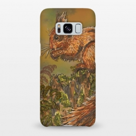 Galaxy S8+  September Squirrel by Lotti Brown