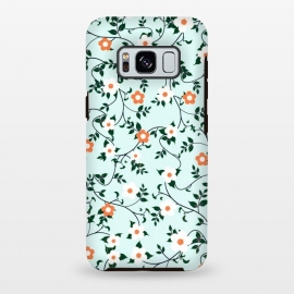 Galaxy S8+  White & orange flowers by Jms
