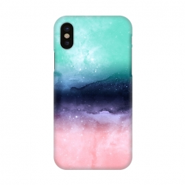iPhone X  Modern watercolor abstract paint   by InovArts