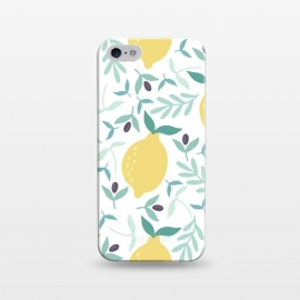iPhone 5/5E/5s  Lemon & Blueberry Pastel by ArtPrInk