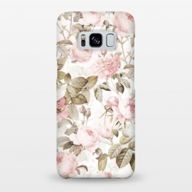 Galaxy S8+  Pastel Vintage Roses by Utart