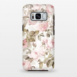 Galaxy S8 plus  Pastel Vintage Roses by