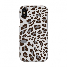 iPhone X  Leopard Texture 3 by Bledi