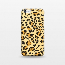 iPhone 5C  Leopard Texture 5 by Bledi