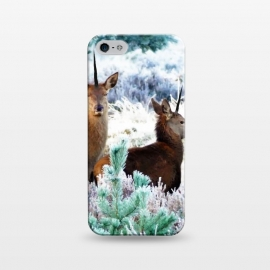 iPhone 5/5E/5s  Unicorn Deer by Uma Prabhakar Gokhale