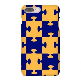 jigsaw yellow blue by MALLIKA