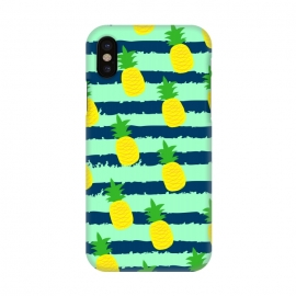 iPhone X  summer pineapple pattern by