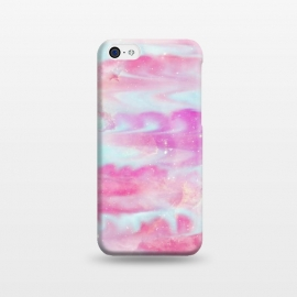 iPhone 5C  Pink blue  by Jms