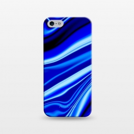 iPhone 5/5E/5s  Electric Blue by Ashley Camille (wavy,vibrant)